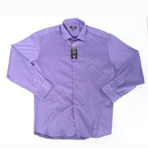 Alfani eggplant purple dress shirt